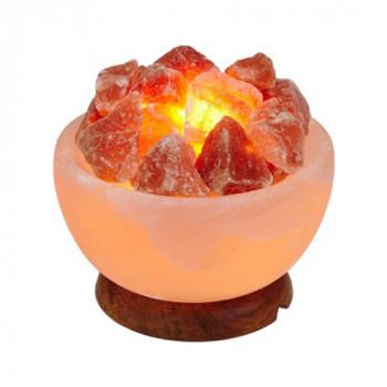 """Солевая лампа Wonder Life """"Огненная ваза"""" (3 кг)"""